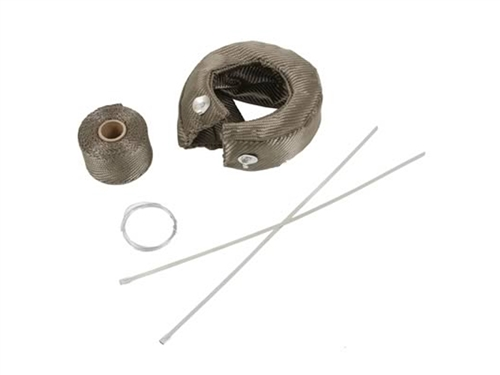 Turbo Heat Shield Kit (Titanium) - Garrett T3