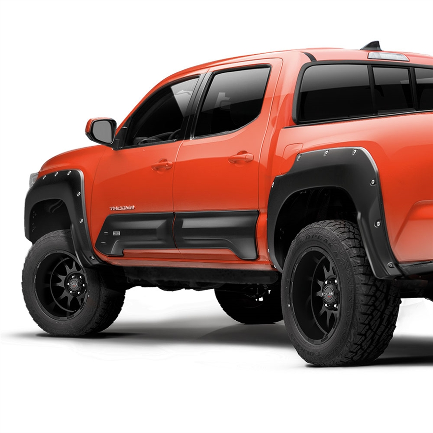 2016 Toyota Tacoma Double Cab Suspension: Air Design Fender Flares Kit For 2016 & Up Tacoma