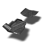 Air Design Floor Liners Kit for 2016 & Up Tacoma (Set of 2)