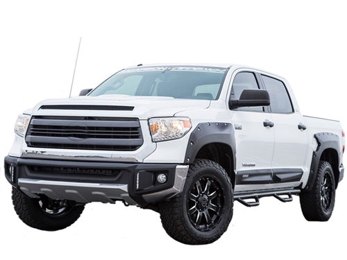 Air Design Full Kit for 2014 & Up Tundra CrewMax ONLY (Black Applique)