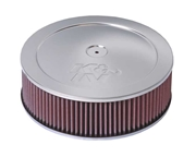 "K&N Air Filter - 11"" x 4.75"" Air Assembly - Chrome"