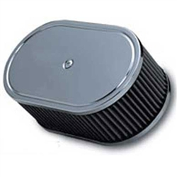 "2"" Sidedraft Air Cleaner w/Filter (40mm to 45mm)"