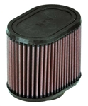 K&N Air Filter-Oval Straight/LC Pro Fuel Injection