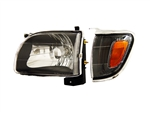 Headlight Set with Corner Lights For 2001-2004 Tacoma