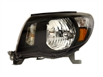 Black Headlight Set For 2005-2011 Tacoma