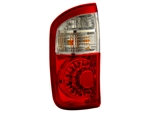 Red/Clear Tail Light Set For 2000-2006 Double Cab Tundra