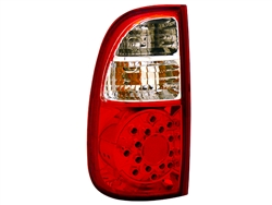 Red/Clear LED Tail Light Set For 2000-2006 Regular/Access Cab Tundra