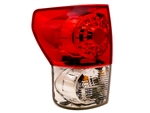 Red/Clear LED Tail Light Set For 2007-2013 Tundra