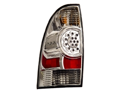 Chrome LED Tail Light Set For 2005-2015 Tacoma