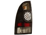Black LED Tail Light Set For 2005-2015 Tacoma