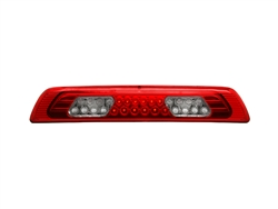 Red/Clear LED 3rd Brake Light For 2007-2012 Tundra