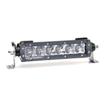 "LIGHTFORCE 6"" Single Row LED Light Bar Combo (Spot+Flood)"