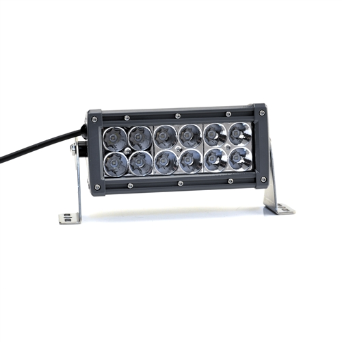"LIGHTFORCE 6"" Dual Row LED Light Bar Combo (Spot+Flood)"