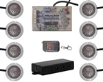 Tantrum 8 LED Rock Light Kit White