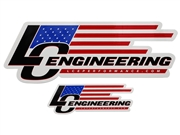 LC Engineering New Logo Decal (Small)