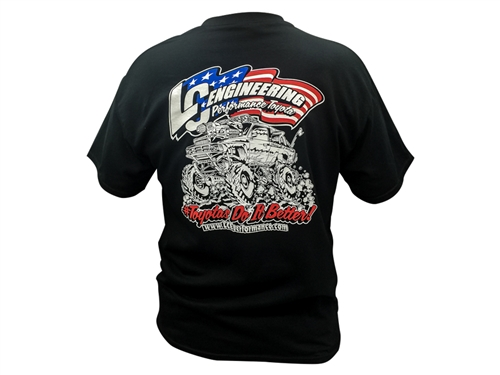 NEW LC Engineering Monster 4Runner T-Shirt Large