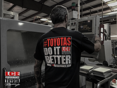 NEW LC Engineering #TOYOTASDOITBETTER T-Shirt XX-Large