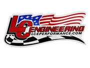 "6"" LCE Flag/Checker Decal"