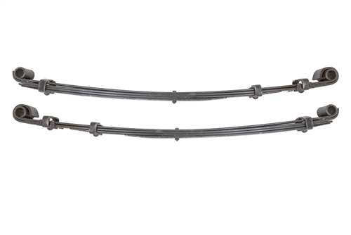 LCE Front Heavy Duty Leaf Spring Set For 1984-1985 4Runner (Stock Height)
