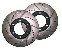4-Runner (6/91-10/95) 3VZ Cross Drilled Rotors 6 Lug (Set of 2)