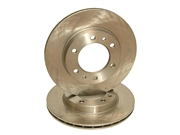 Vented Rotors - Non-Cross Drilled (Each) 81-85 Solid Axle