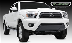 T-REX Black Mesh 4-Piece Grille Overlay For 2012-2015 Tacoma