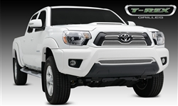 T-REX Polished SS 4-Piece Mesh Grille Overlay For 2012-2015 Tacoma