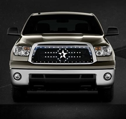RBP RX-2 Series Studded Frame-main Tundra Grille (Black) 2010-2013 (Except Limited)