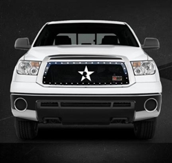 RBP RX Series Studded Frame-main Tundra Grille (Black) 2010-2013 (Limited/Platinum ONLY)