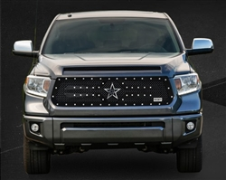 RBP RX-2 Series Studded-Frame Main Grille Black Tundra 2014-2015 (Except Limited)