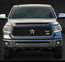 RBP RX-3 Series Studded Frame-main Tundra Grille (Black) 2014-2015 (Except Limited)