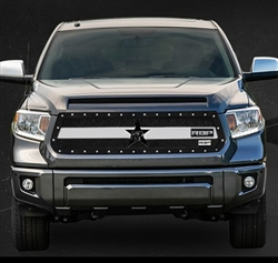 RBP RX-3 Series Studded Frame-main Tundra Grille (Black & Chrome) 2014-2015 (Except Limited)