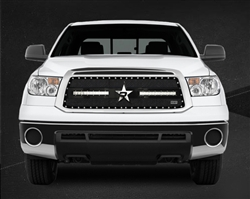 RBP RX-3 LED S-Series Studded Frame-main Tundra Grille (Black) 2010-2013 (Limited/Platinum ONLY)