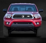 RBP RX-3 Series Studded Frame-main Tacoma Grille (Black) 2012-2014
