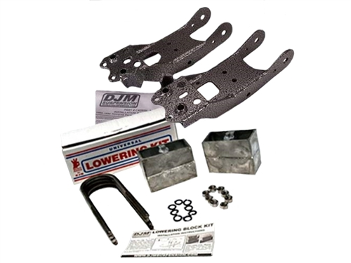 "DJM Complete Lowering Kit 3"" Front & 4"" Rear For 1989-1995 Pickup"