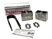 "DJM Lowering Aluminum Block Kit 4"" Rear For 1989-1995 Pickup"