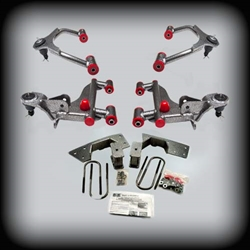 "DJM Complete Lowering Kit 3"" Front & 4"" Rear For 2005-2014 Tacoma (With Balljoints)"