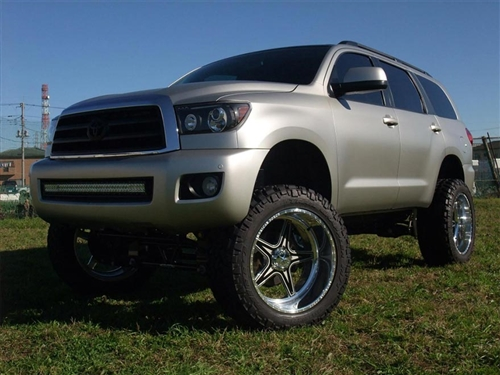 "BULLETPROOF Complete 10-12"" Lift Kit 2WD/4WD Sequoia 2008-2014"
