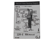 Vacuum Hose Routing Diagram Decal