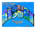 Gregory Attontio - Greetings From Asbury Park Blue