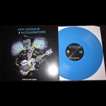 Kepi Ghoulie and The Accelerators Fun In The Dark Blue Vinyl LP