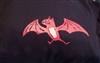 RARE Kepi Ghoulie Red Bat T-shirt Youth Medium Girl Cut