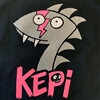 Glam Chupacabra T-shirt by Kepi Ghoulie