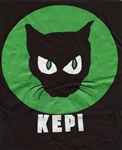 The Original Black Cat by Kepi Tote Bag