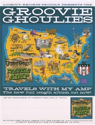 Groovie Ghoulies Travels With My Amp Poster