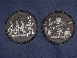 Clones Vs. Punk and Happy Snake Patches
