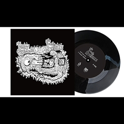 The Young Rochelles / Nerdy Jugheads split 7""