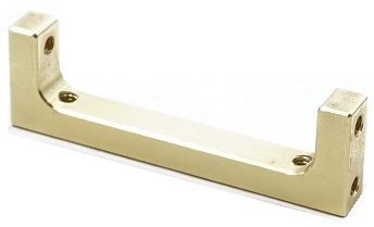 "2.00"" Brass Chassis Block"