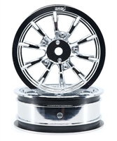"AXIS Chrome 2.2"" Front Wheels"