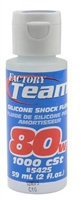Team Associated Silicone Shock Oil (2oz) (80wt)